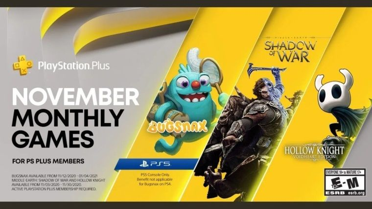 Playstation Plus Kasım 2020 ücretsiz oyunları belli oldu
