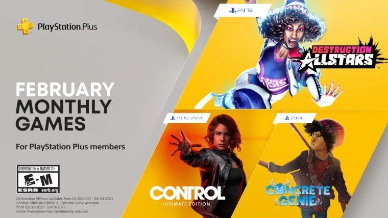 PlayStation Plus Şubat 2021 ücretsiz oyunları belli oldu
