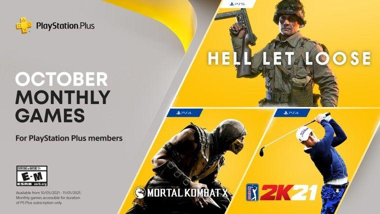 PlayStation Plus ekim oyunları resmi olarak açıklandı