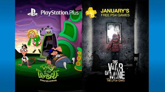 PS Plus - Ocak oyunları belli oldu