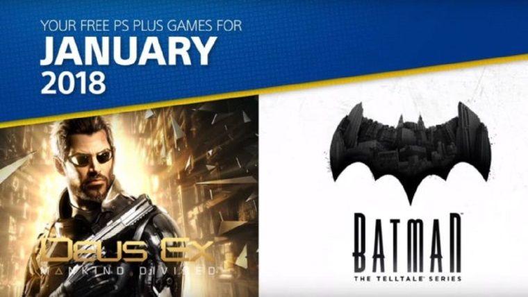 PlayStation Plus Ocak 2018 oyunları şahane!