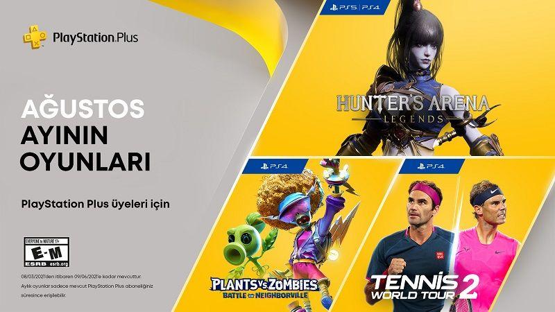 PlayStation Plus ağustos oyunları resmi olarak açıklandı