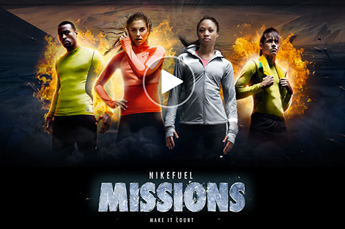 NikeFuel Missions bizlerle