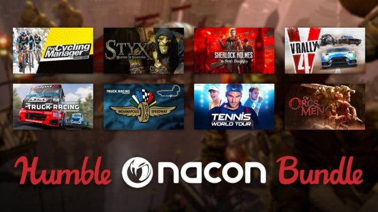 Nacon oyunları Humble Bundle indirimlerinde