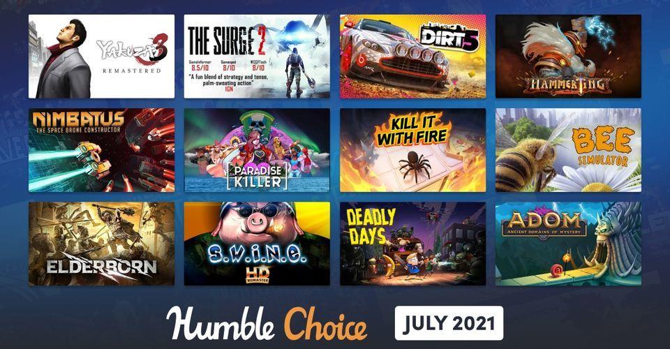 Humble Choice Temmuz 2021 oyunları açıklandı