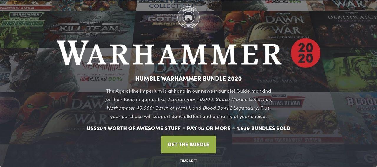 Warhammer oyunları Humble Bundle indirimlerinde