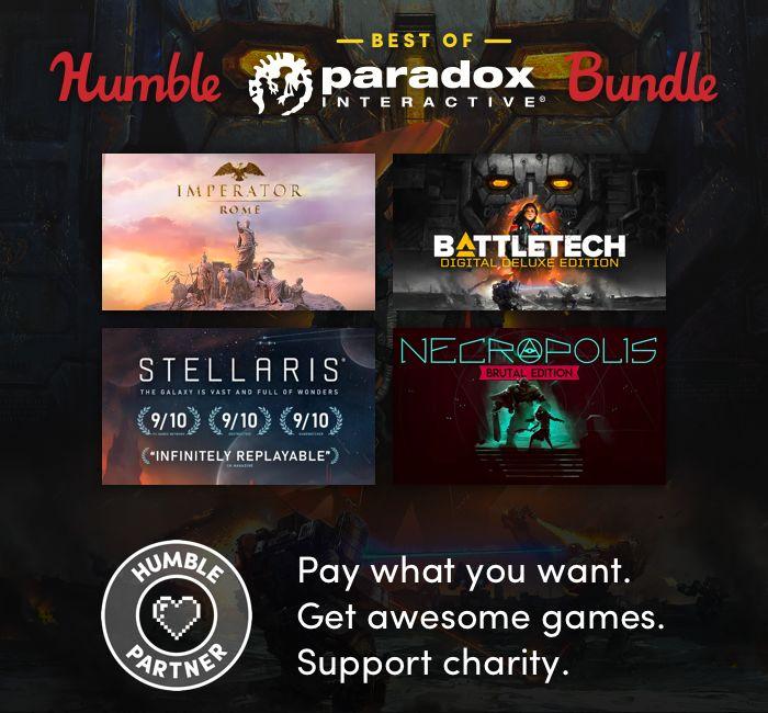 Paradox oyunları Humble Bundle indirimlerinde