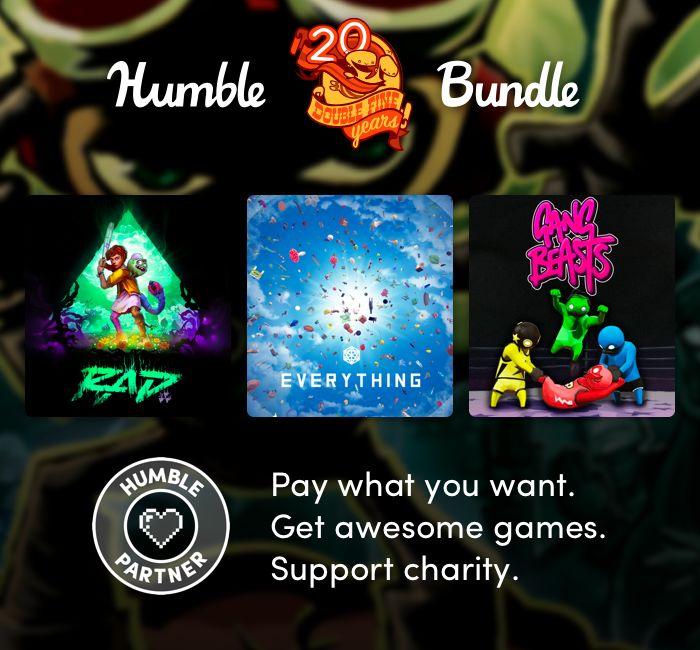 Humble Bundle'da Double Fine'ın 20. yıl dönümü paketi yayınlandı
