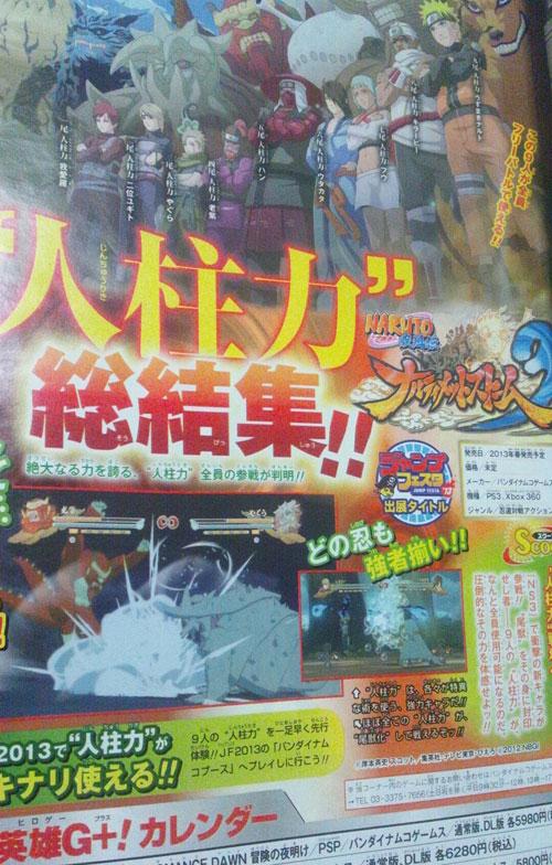 Naruto Shippuden Ultimate Ninja Storm 3'teki başrolünüz kim?