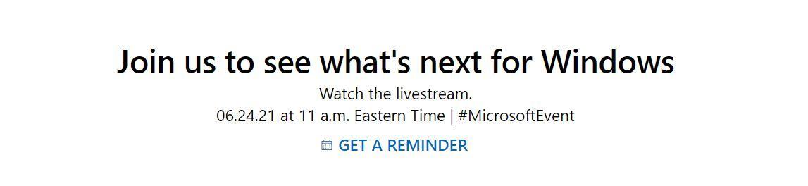 Microsoft yeni Windows duyurusu için tarih verdi