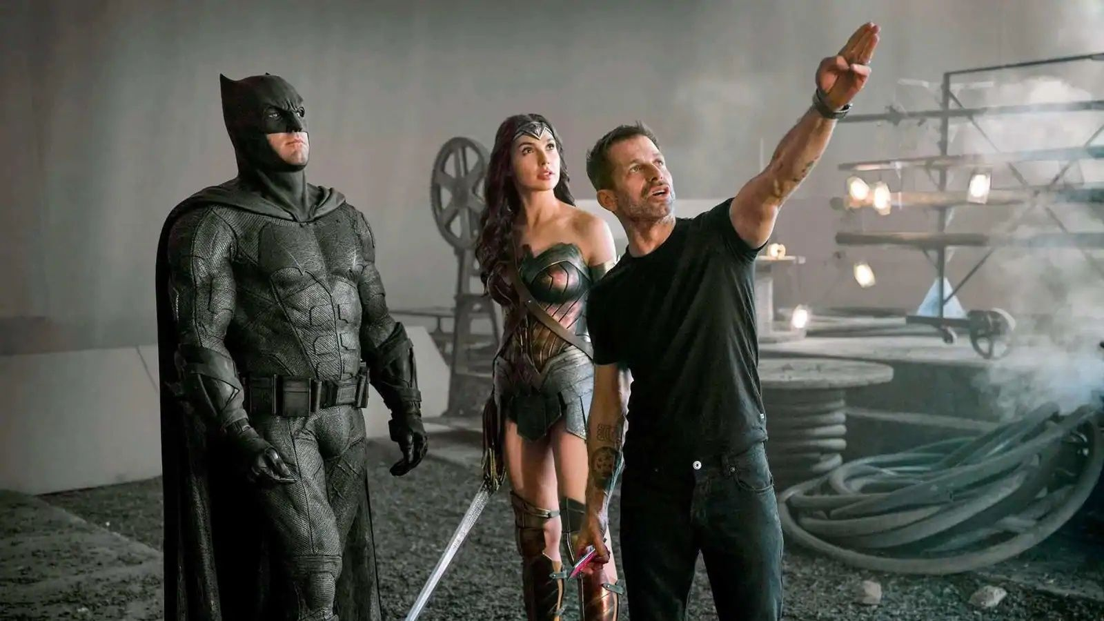 New images from Zack Snyder's Justice League movie shared