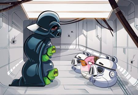 Angry Birds Star Wars'tan yeni video