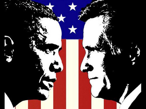 Obama vs Romney, Fight!
