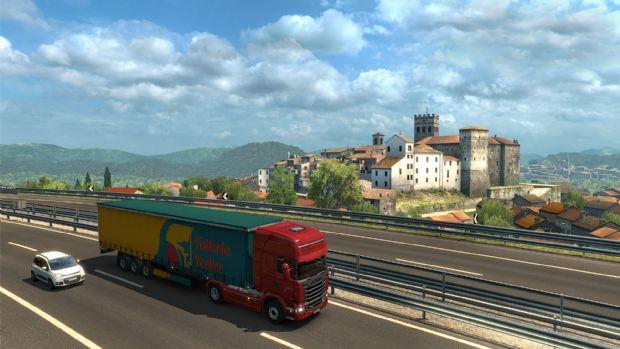 Euro Truck Simulator için İtalya ek paketi yolda