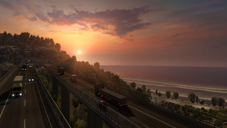 Euro Truck Simulator 2'nin İtalya ek paketi Steam'de yayında