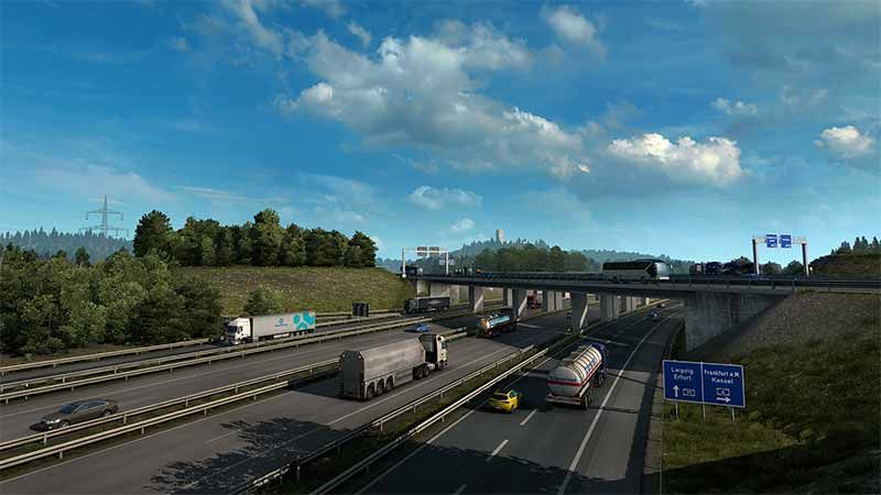 Euro Truck Simulator 2 hileleri ve konsol komutları