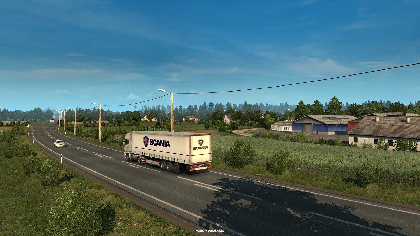 Euro Truck Simulator 2'ye eklenecek yeni şehirler belli oldu