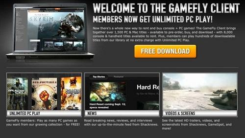 GameFly PC Client'ı artık resmi olarak çıktı!