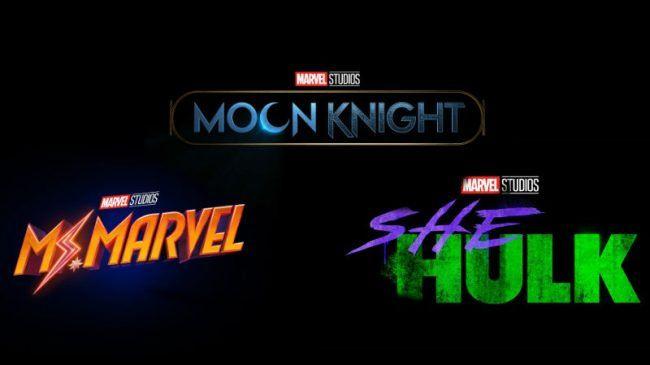 She-Hulk, Moon Knight ve Ms. Marvel serileri duyuruldu!