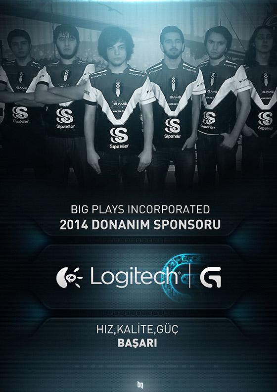 Logitech G, bir eSpor takımına sponsor oldu
