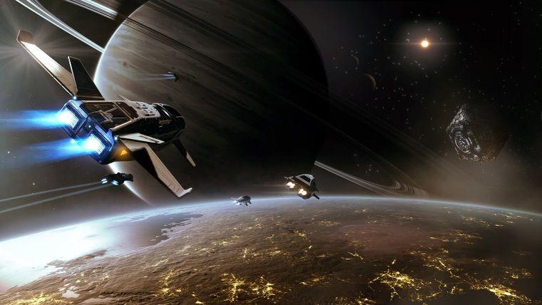 Elite: Dangerous pilotu, bir ayını bakın ne için harcadı