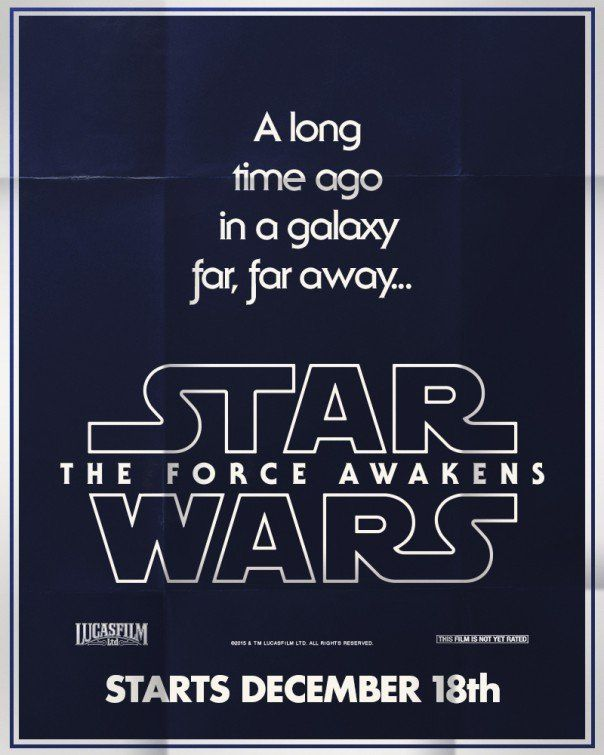 Star Wars: The Force Awakens'dan retro posterler
