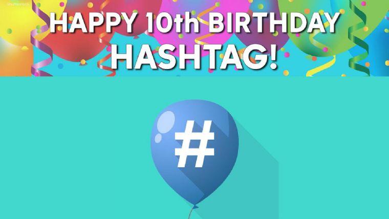 10. yaşına giren hashtag'i kullanırken nelere dikkat etmeli?