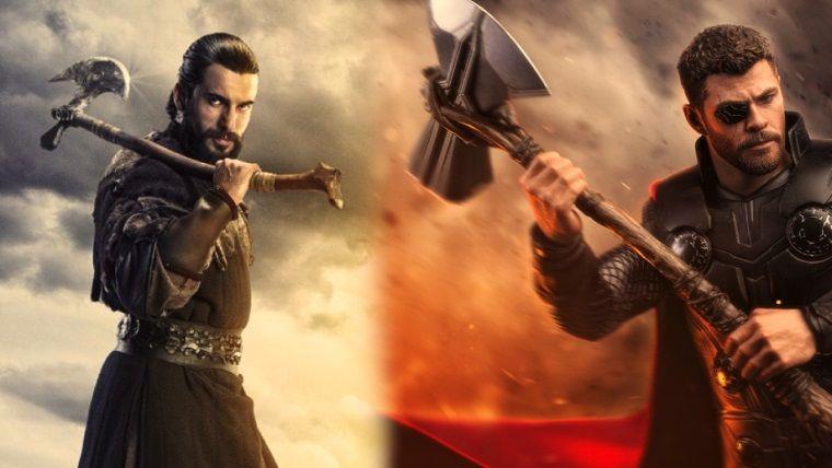 Thor'un yeni baltası güya Diriliş: Ertuğrul'dan gelmiş..