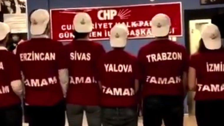 CHP Gençlik Kolları'ndan La Casa De Papel göndermeli reklam