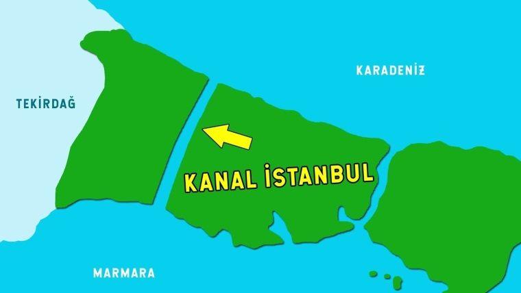 Bu sefer de Kanal istanbul oyununu yaptılar