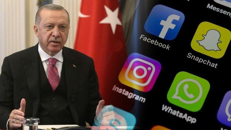 Cumhurbaşkanından açıklama: 'Sosyal medyaya düzenleme geliyor'