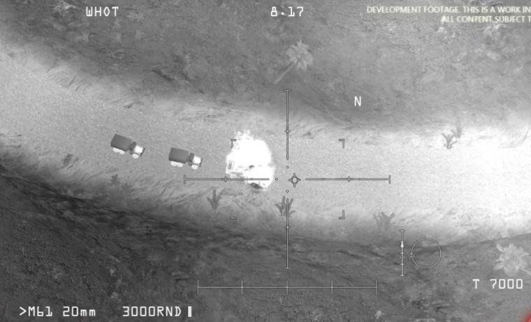Rusya, IŞİD görüntüsü diye oyun görseli paylaştı