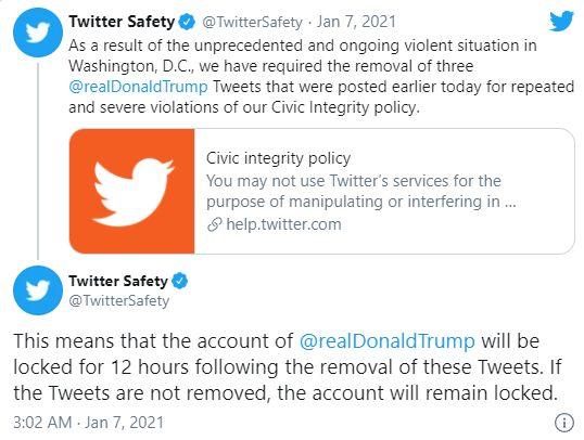 Donald Trump'ın Twitch kanalı yasaklandı