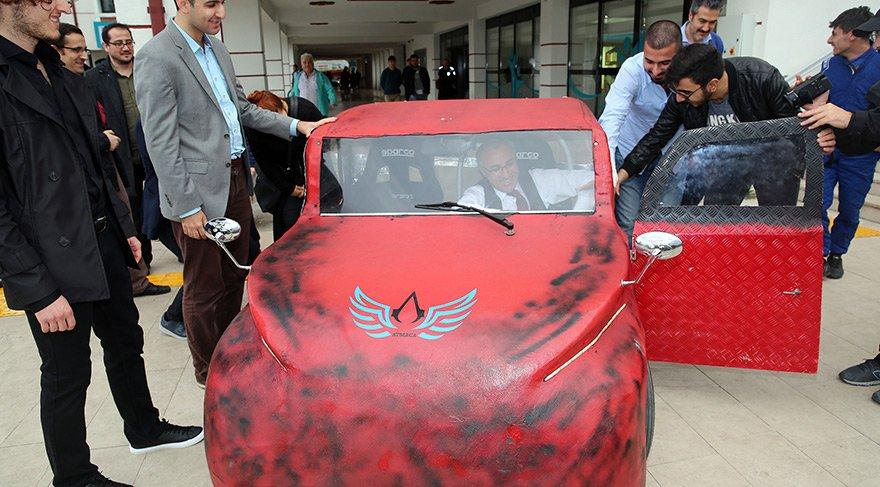Yerli otomobilde Assassin's Creed logosu kullanıldı