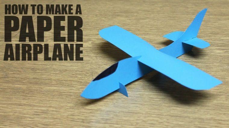 Kâğıttan uçak yapmanın püf noktalarını video ile açıklıyoruz