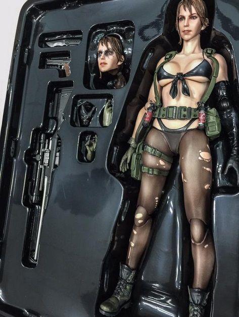 Metal Gear Solid 5'in Quiet'ı oyuncak bebek oldu!