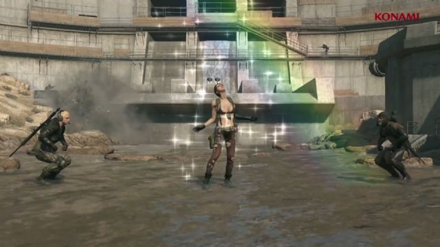Cloaked in Silence, Metal Gear Solid V oyuncularına sunuldu