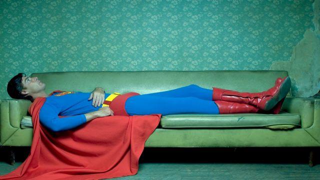 Superman uyuya kalsaydı