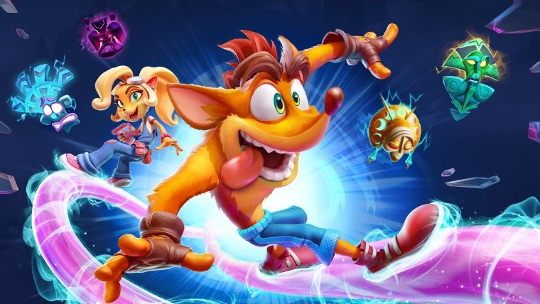 Crash Bandicoot 4: It's About Time PS4 ve Xbox One için duyuruldu