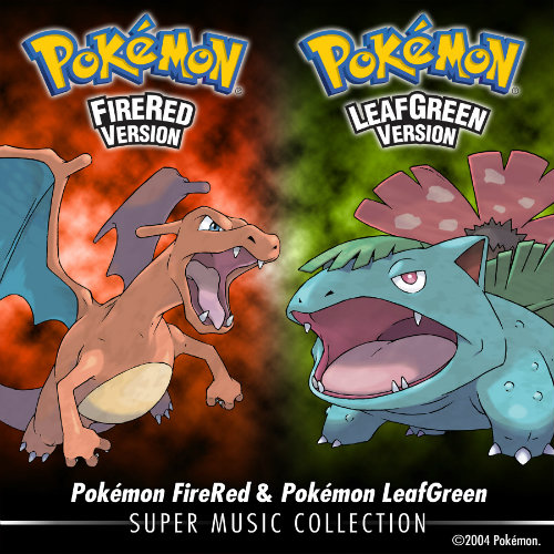 Pokemon Fire Red ve Leaf Green müzikleri iTunes'da