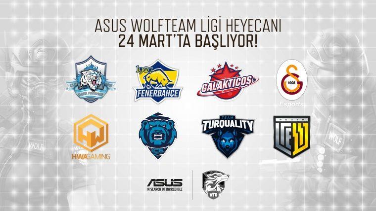 ASUS Wolfteam Ligi adıyla 24-25 Mart 2018 tarihlerinde başlıyor