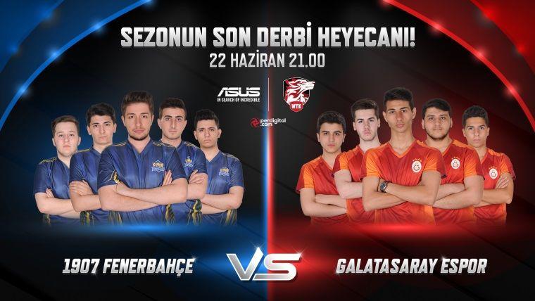 Fenerbahçe ve Galatasaray, Wolfteam Liginde karşı karşıya geliyor