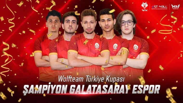 2019 Wolfteam Türkiye Kupası Şampiyonu Galatasaray Espor oldu