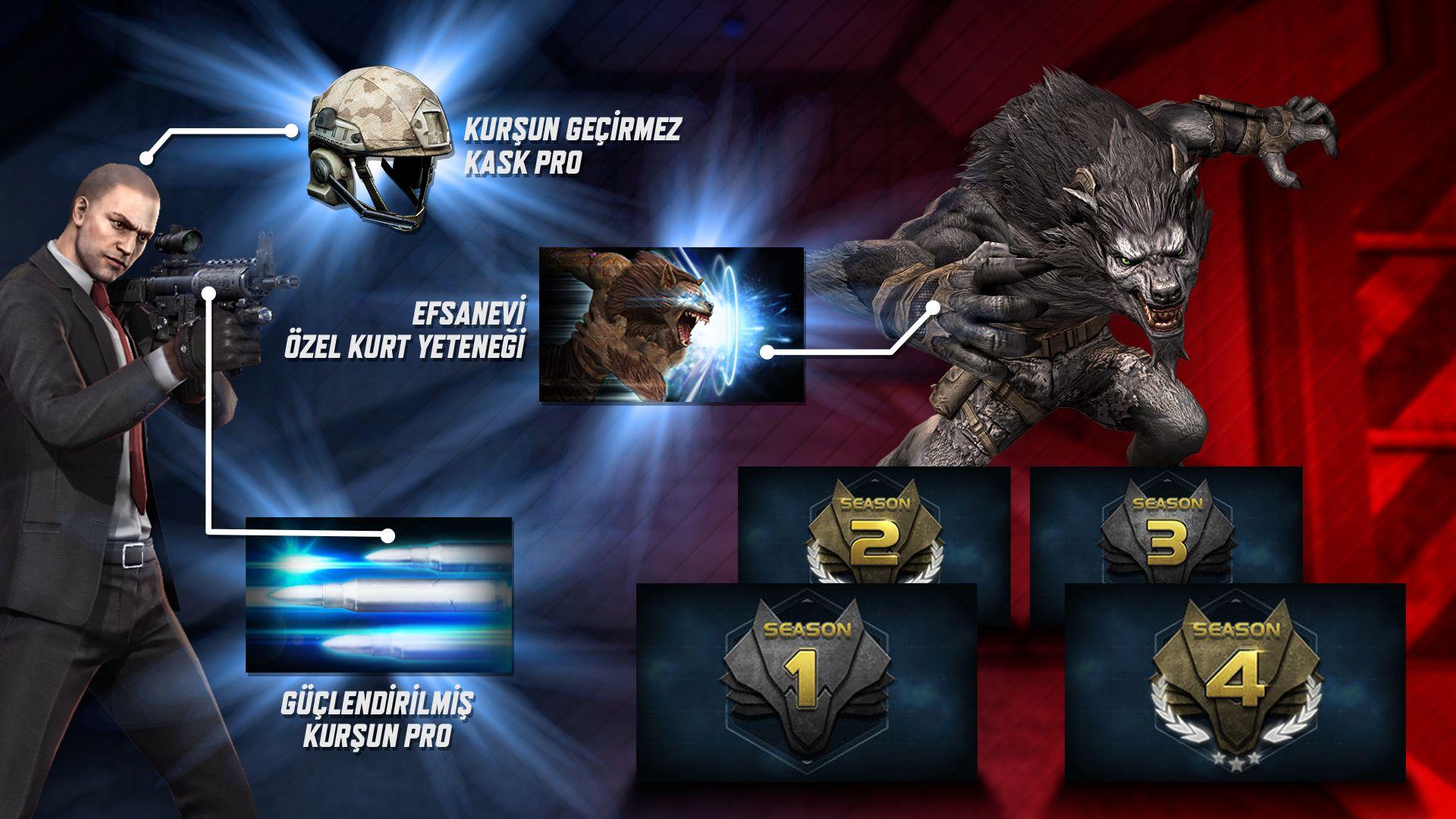 Wolfteam Sezon Paketleri'nde gücüne güç katan farklı hediyeler var