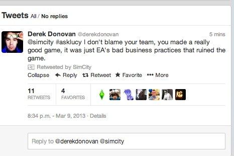 Maxis EA'i suçluyor!