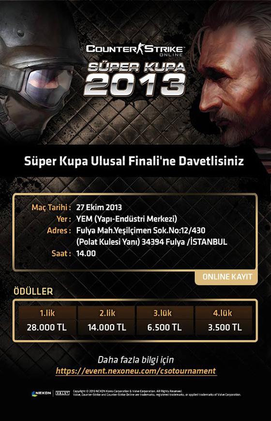 Counter Strike'ın büyük ödüllerinden kim kazanmak ister?
