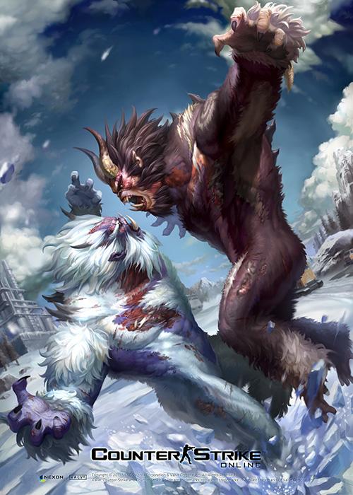 Counter-Strike Online'da canavarlar istilası!