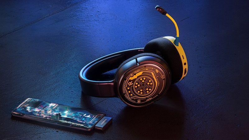 SteelSeries'in Cyberpunk 2077 temalı kulaklıkları tanıtıldı