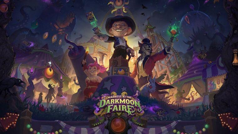 Hearthstone'un yeni genişleme paketi Darkmoon Panayırı Dehşeti çıktı