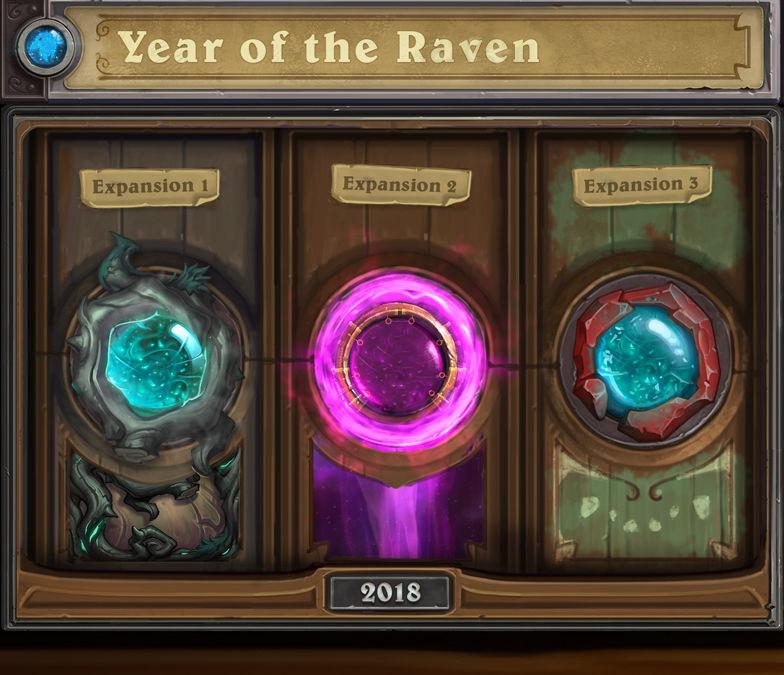 Hearthstone'un yeni yılı olan Year of the Raven ile tanışın